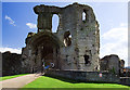 SJ0565 : Denbigh Castle - the Great Gatehouse by Mike Searle
