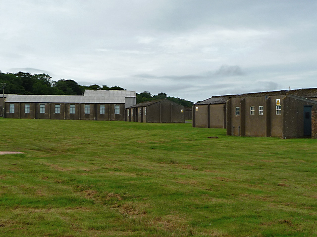 Former RAF buildings at East Fortune
