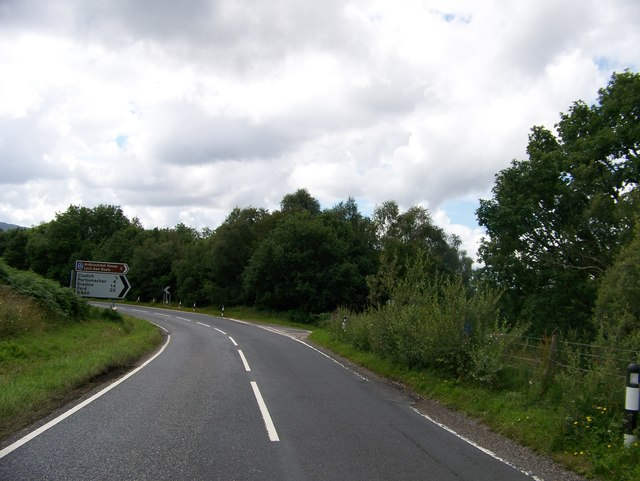 B840 junction with A819