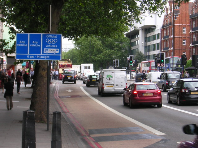 Olympic Route Network: Games Lane, Marylebone Road
