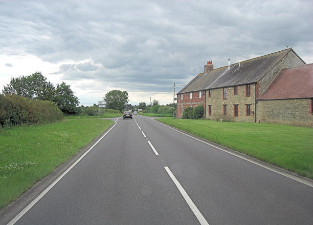 A415 passes Northfield Farm
