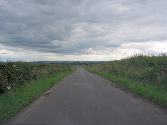 Hanney Road northeast of Sheephouse Farm