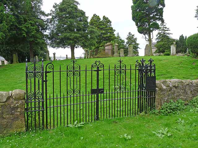 Graveyard at Nisbet
