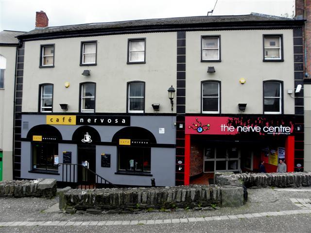 Café Nerve / Nerve Centre, Derry / Londonderry