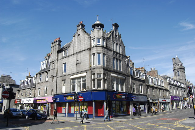Corner block, George Street and John Street