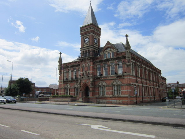 The Stretford Public Hall on Chester Hall