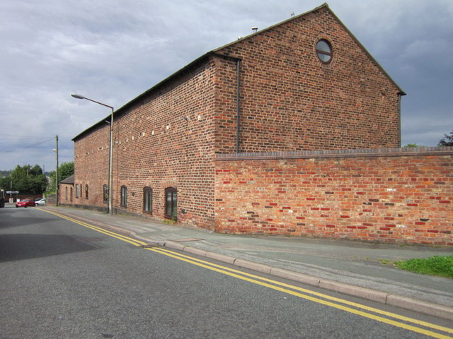 Former farm buildings at Manor Farm Court, Frodsham