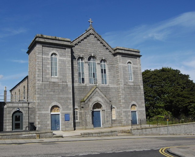 Former Denburn Parish Church, Summer Street, Aberdeen