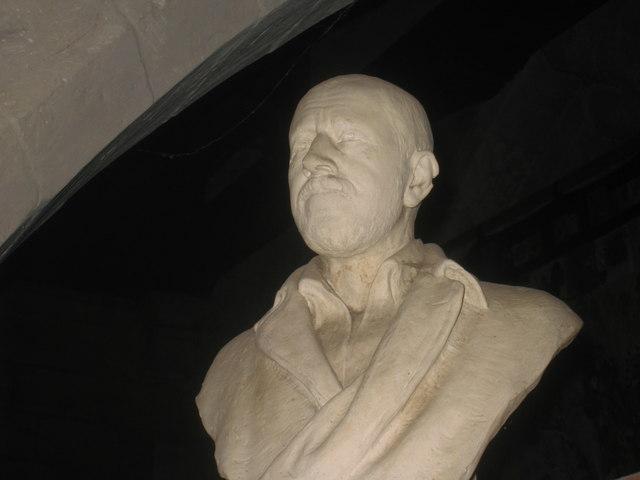 Bust of Sir Tatton Sykes II in Wetwang church