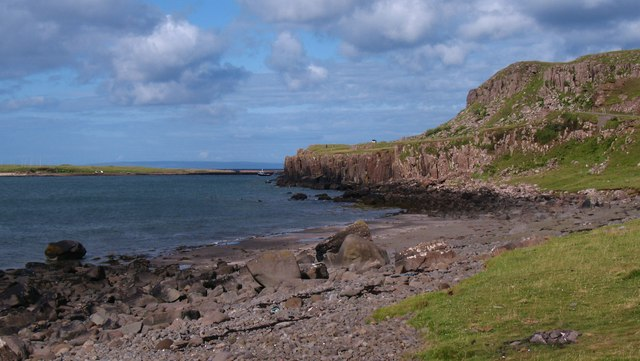 East end of Staffin Bay