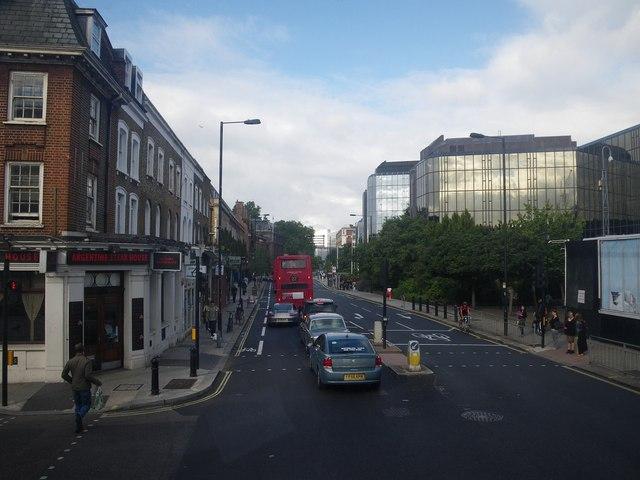 Scene along Hammersmith Road