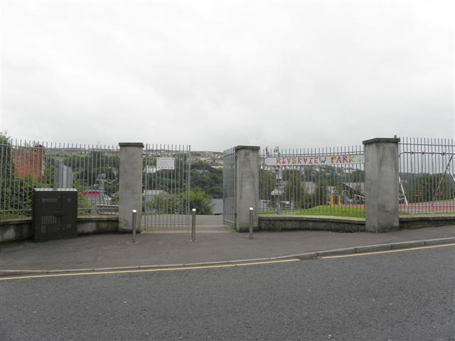 Entrance, Riverview Park, Derry / Londonderry