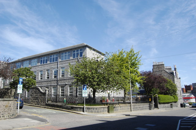 Skene Square Primary School (view from Rosemount Place)