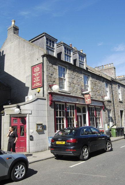 The Globe Inn, North Silver Street, Aberdeen