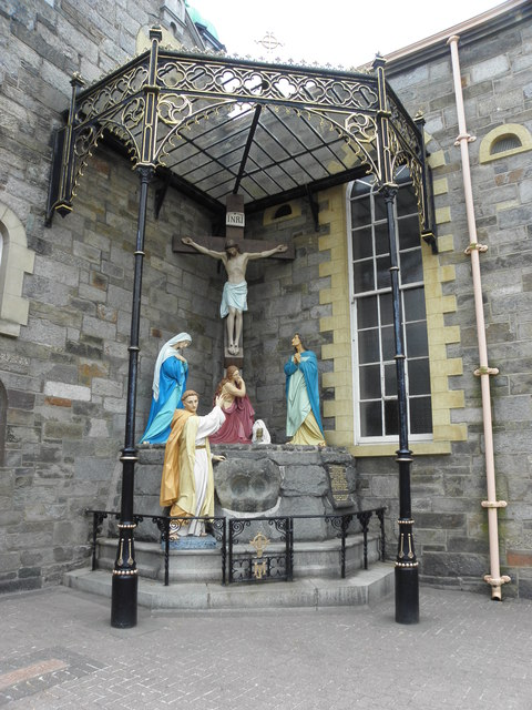 Calvary scene, Long Tower Church