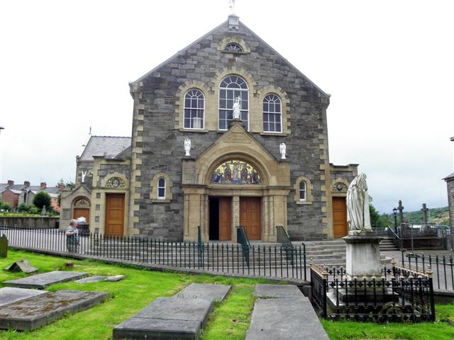 St Columba's Church, Long Tower (north-east side)