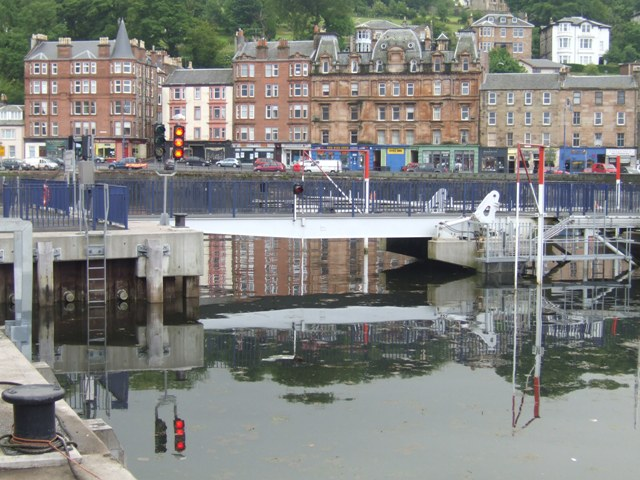 Lifting Bridge in the inner harbour