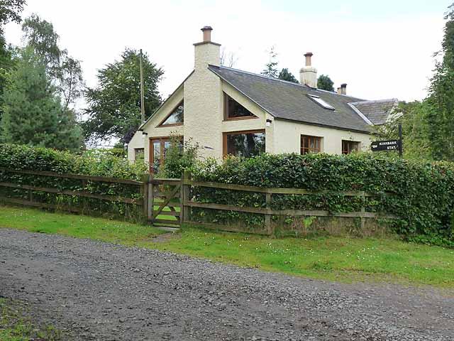 Houses at Kirkbank Station