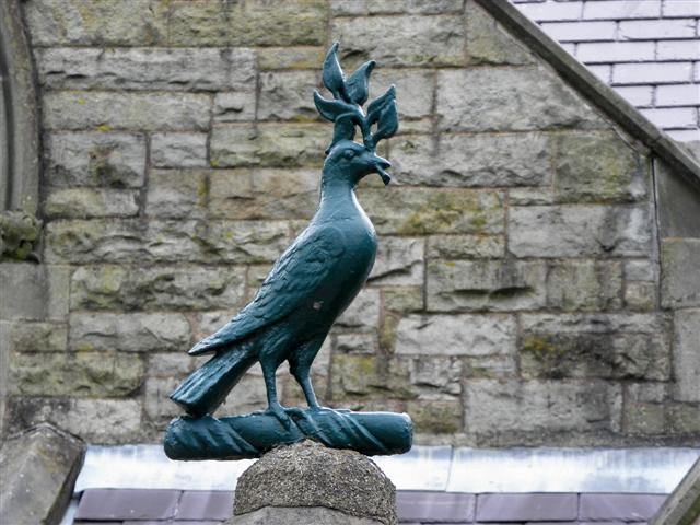 Bird of peace, St Columba's  School
