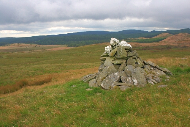 Cairn on Pen-y-Bwlch