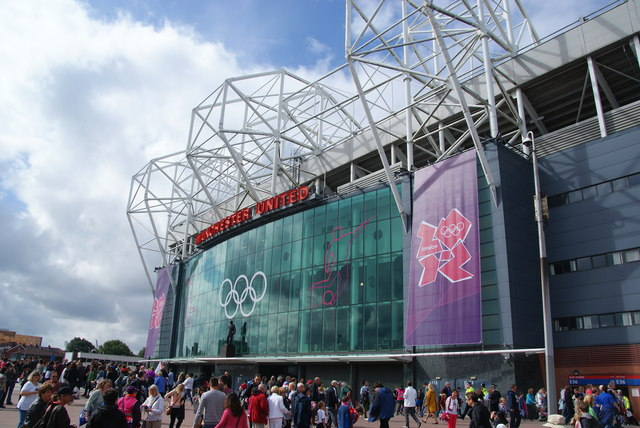 Old Trafford as an Olympic venue