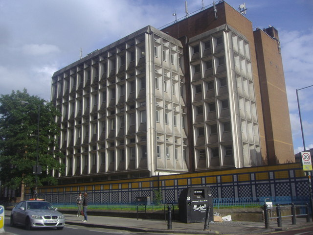 Shepherd's Bush telephone exchange