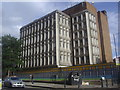 TQ2280 : Shepherd's Bush telephone exchange by David Howard