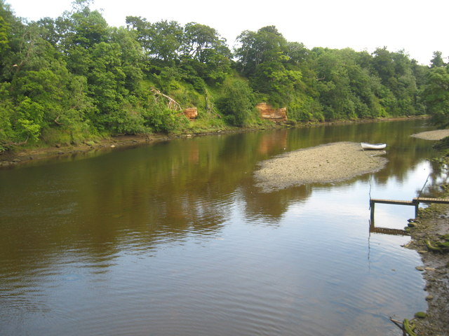The River Coquet at Warkworth