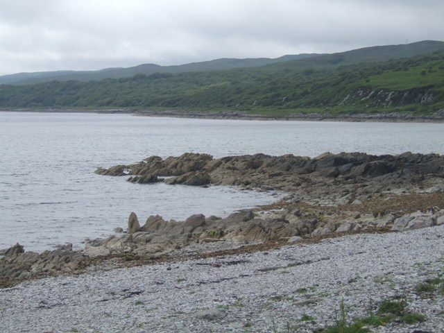 Beach at Claonaig
