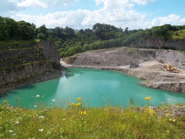 Lagoon at Shiningbank Quarry