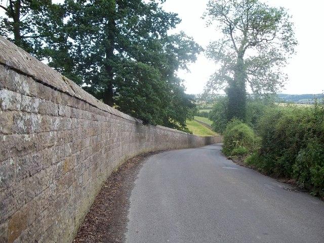 Stanton Hall Perimeter Wall