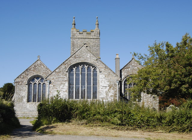 East elevation, St Endelienta Church, St Endellion