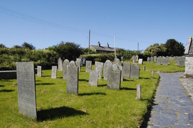 Slate gravestones, St Endellion
