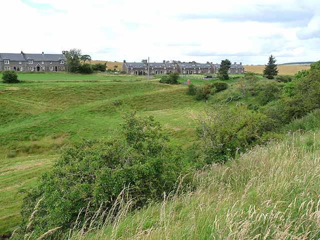 Cessford village