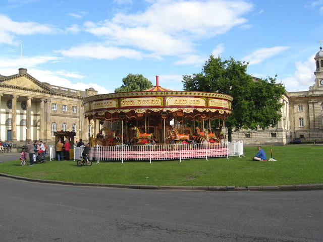 Merry-go-round at the Castle Museum