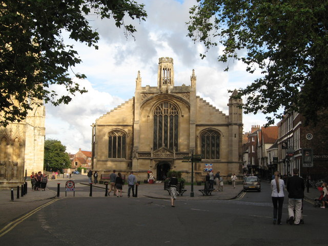 St Michael le Belfrey church, York