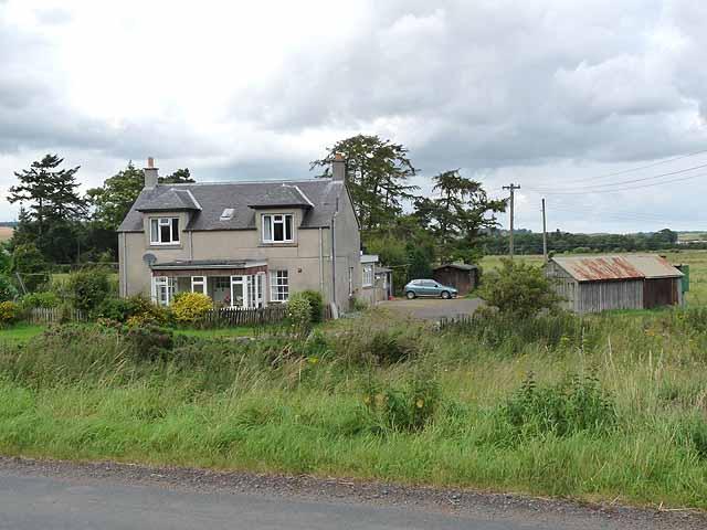 House beside the B6041