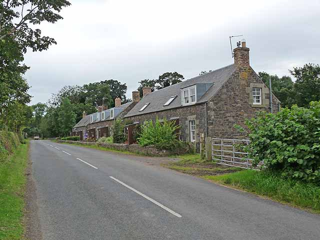 Cottages at Morebattle Tofts