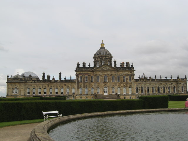 Castle Howard from the fountain