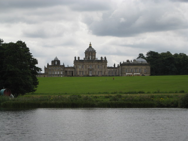 Castle Howard from the Great Lake