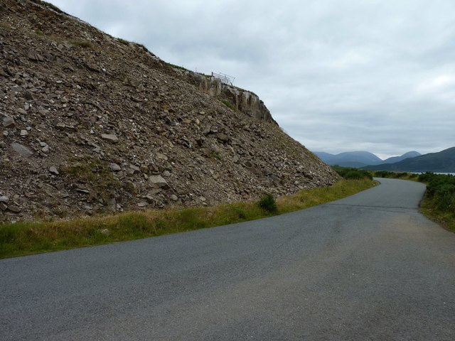 Remains of a landslip