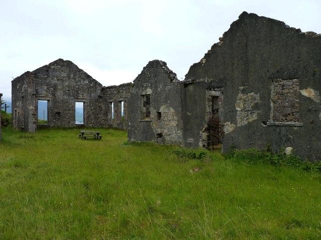 Iron mine ruins