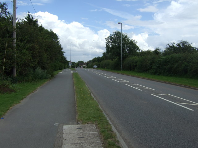 A512 towards the M1