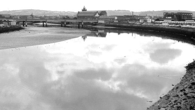 The River Lagan, Belfast (1981)