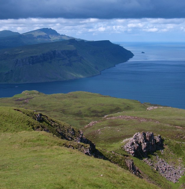 North from Ben Tianavaig