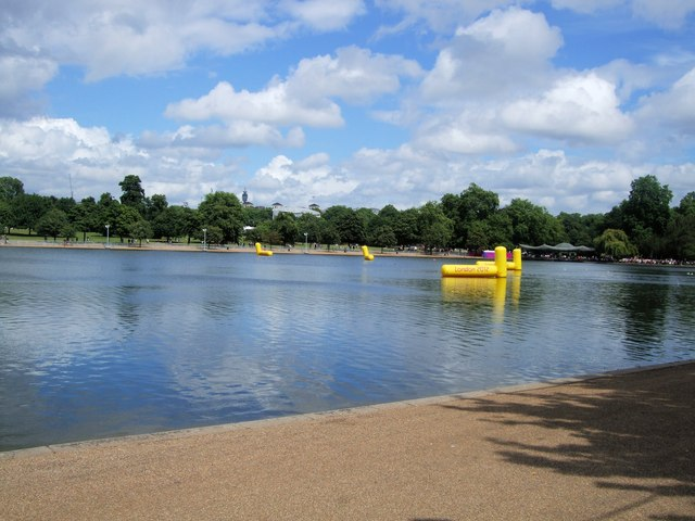 Olympic Buoys The Serpentine