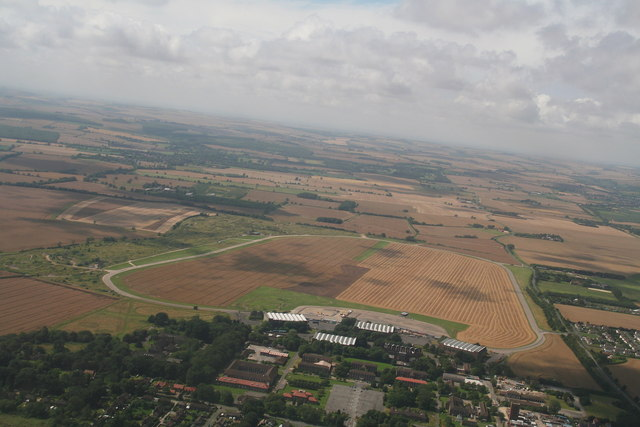 Manby showground and airstrip
