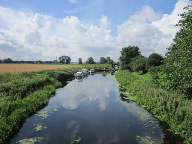 The Selby Canal at West Haddlesey