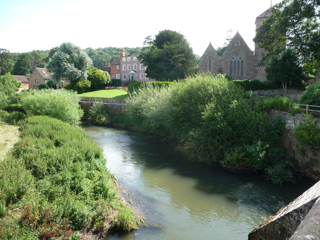 View from Mordiford Bridge