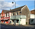 SS9992 : Pharmacy and fish & chip shop, Tonypandy by John Grayson